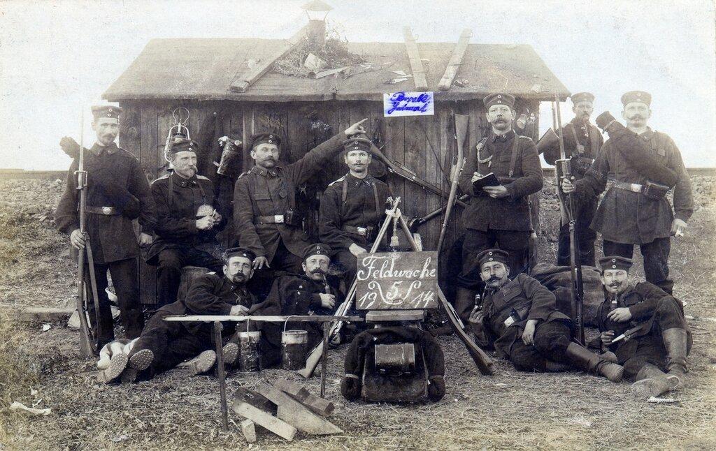 Feldwache 5, October 1914, 76 Landsturm Infanterie Bde.