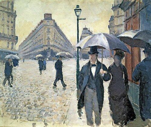 Кайботт. Улица Парижа во время дождя.jpg
