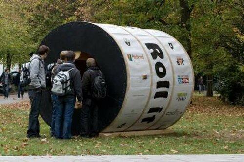 Модульный дом -  колесо хомяка