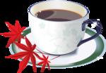 чашка   кофе и  листья.png