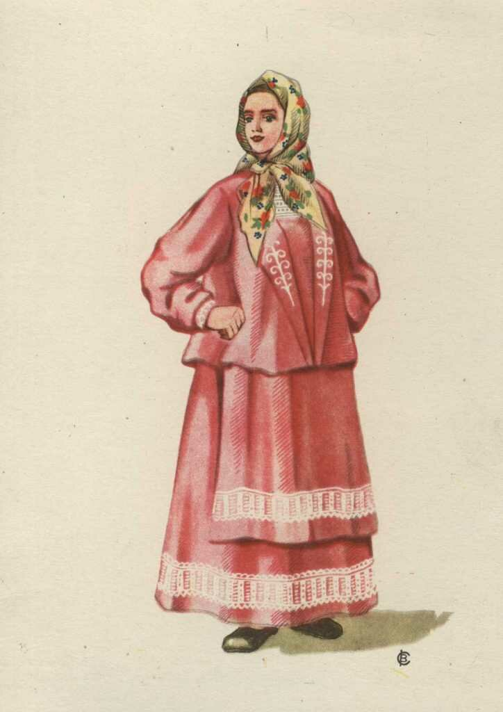 костюмы русские народные женские фото