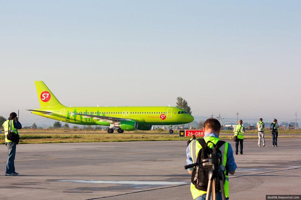 Летний споттинг в Кольцово. Часть 1