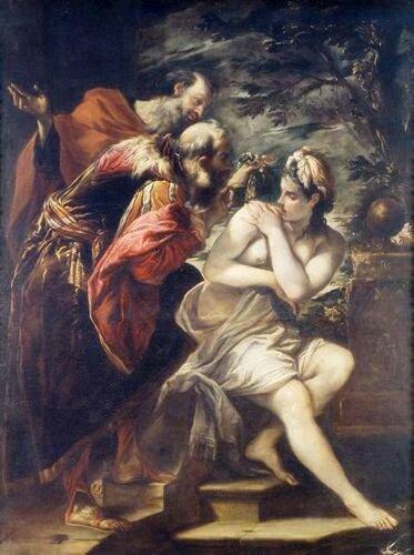 Giovanni Antonio Burrini Сусанна и Старцы