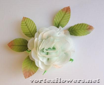 заколка-роза