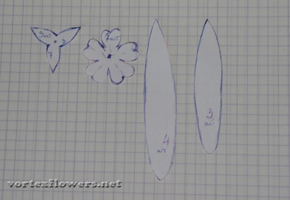 Как сделать мелкие цветы из ткани, мастер-класс.