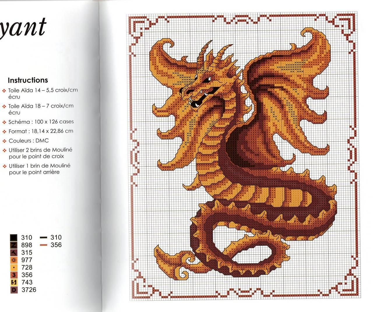Фантастические схемы для вышивки крестом