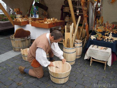 Мастер-класс по средневековым ремеслам