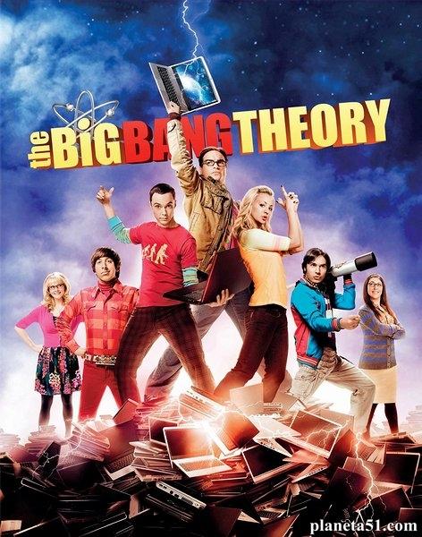Теория большого взрыва (1-7 сезоны: 159 серии из 159) / The Big Bang Theory / 2007-2014 / ПО (Кураж-Бамбей) / HDTVRip