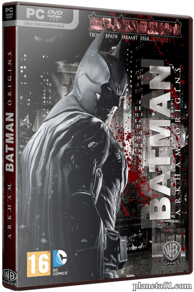 Batman: Arkham Origins [Update 11 + 8 DLC] (2013) PC | Rip от z10yded