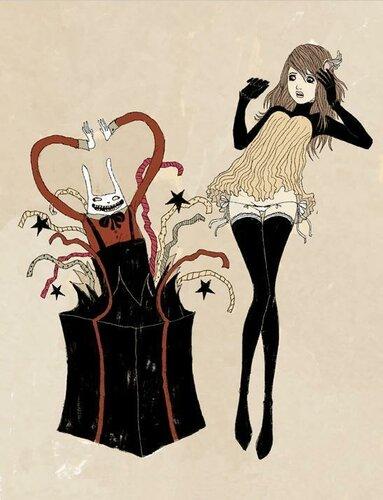 Rossa di sera bianconiglio in tre declinazioni - Alice dietro lo specchio ...