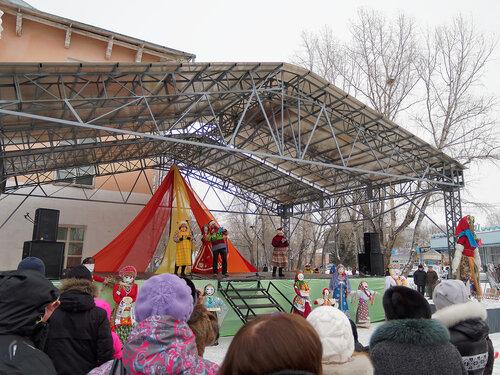Масленица в Шушенском - 2014