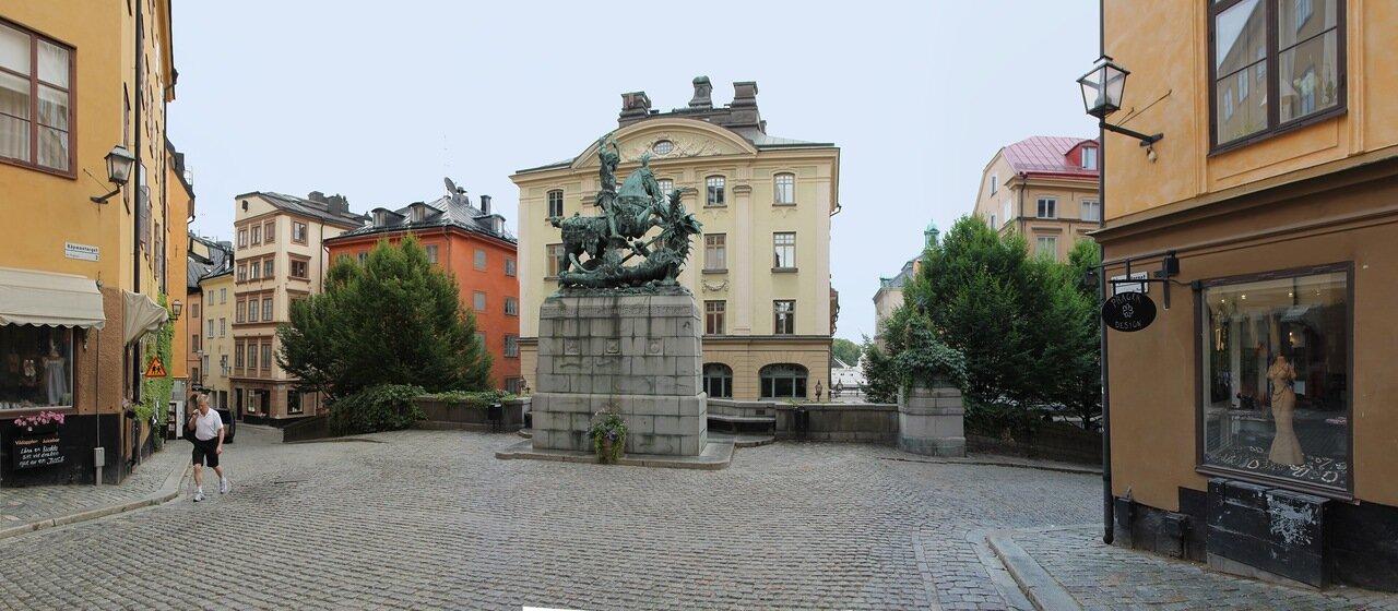 Stockholm, Merchant square (Köpmantorget)