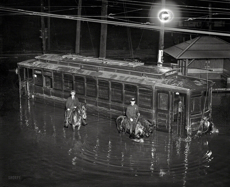 Washington, D.C. Flood, April 30, 1923
