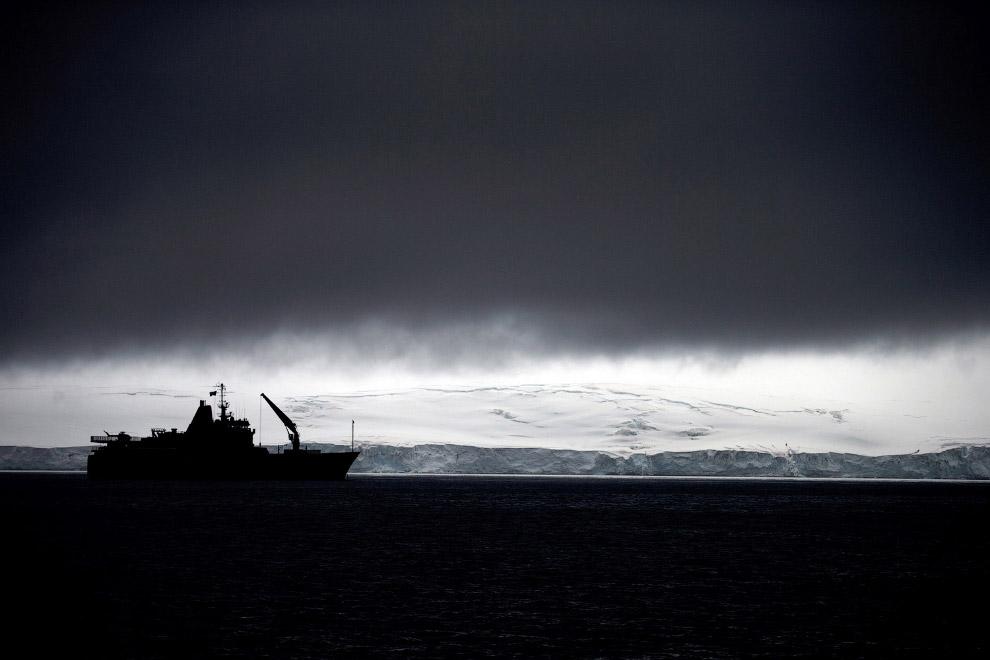 13. Бразильская антарктическая станция Команданте Феррас. База была открыта 6 февраля 1984 года. 25