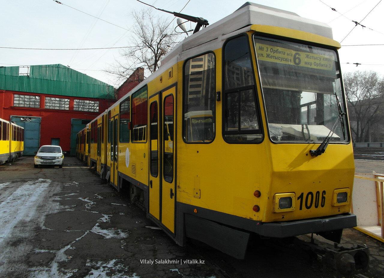 Трамвай 1006.