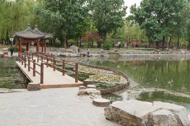 Мост с беседками, Парк Таожаньтин, Пекин