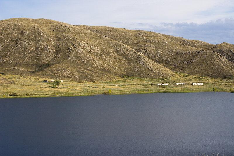 бывший дом отдыха у реки Черемшанка