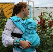 Шарфовый рюкзак серии комфорт гусленок