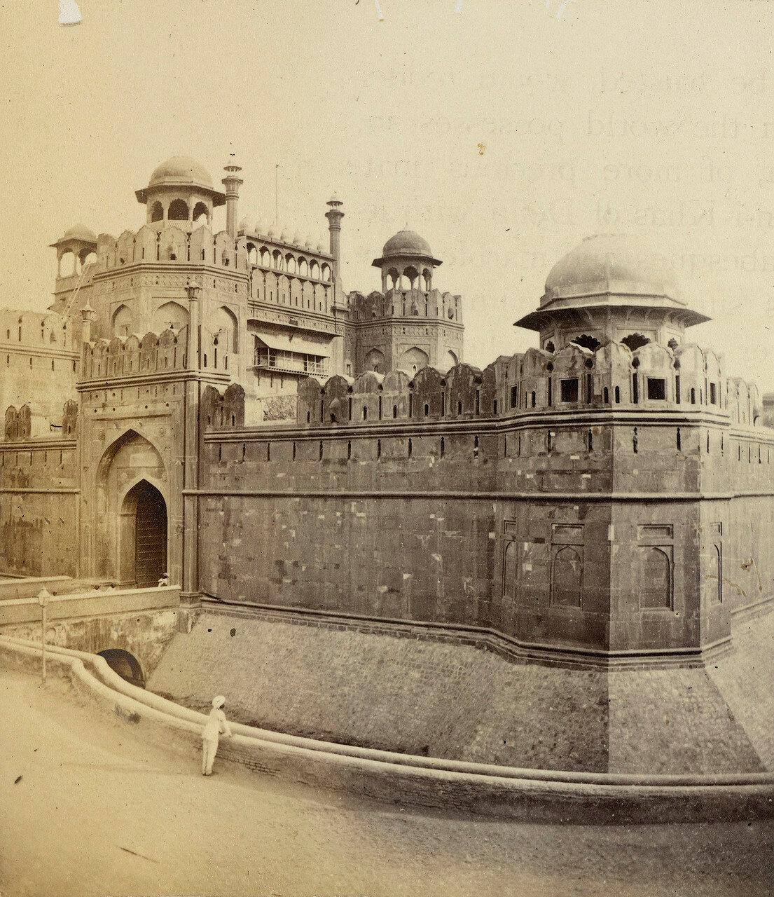 30. Красный форт, ворота Лахор, Дели