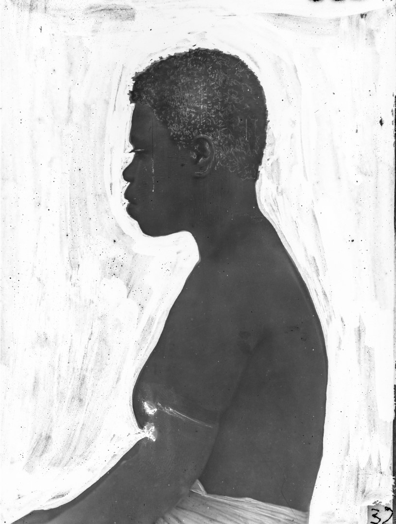 Антропометрические фотографии аборигенов из Бугенвиля