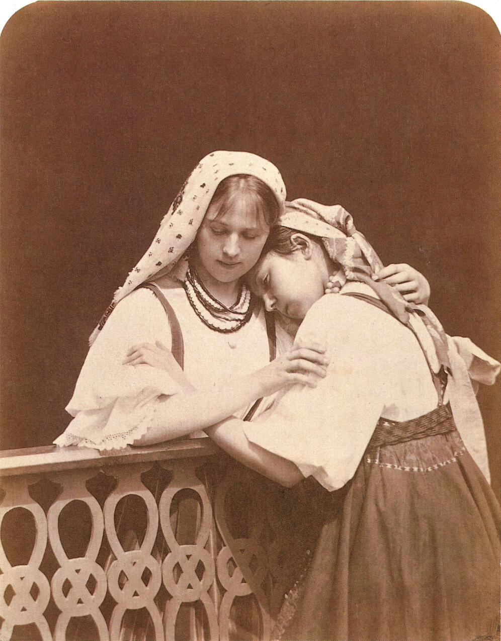 Подруги. 1870-1880 гг.