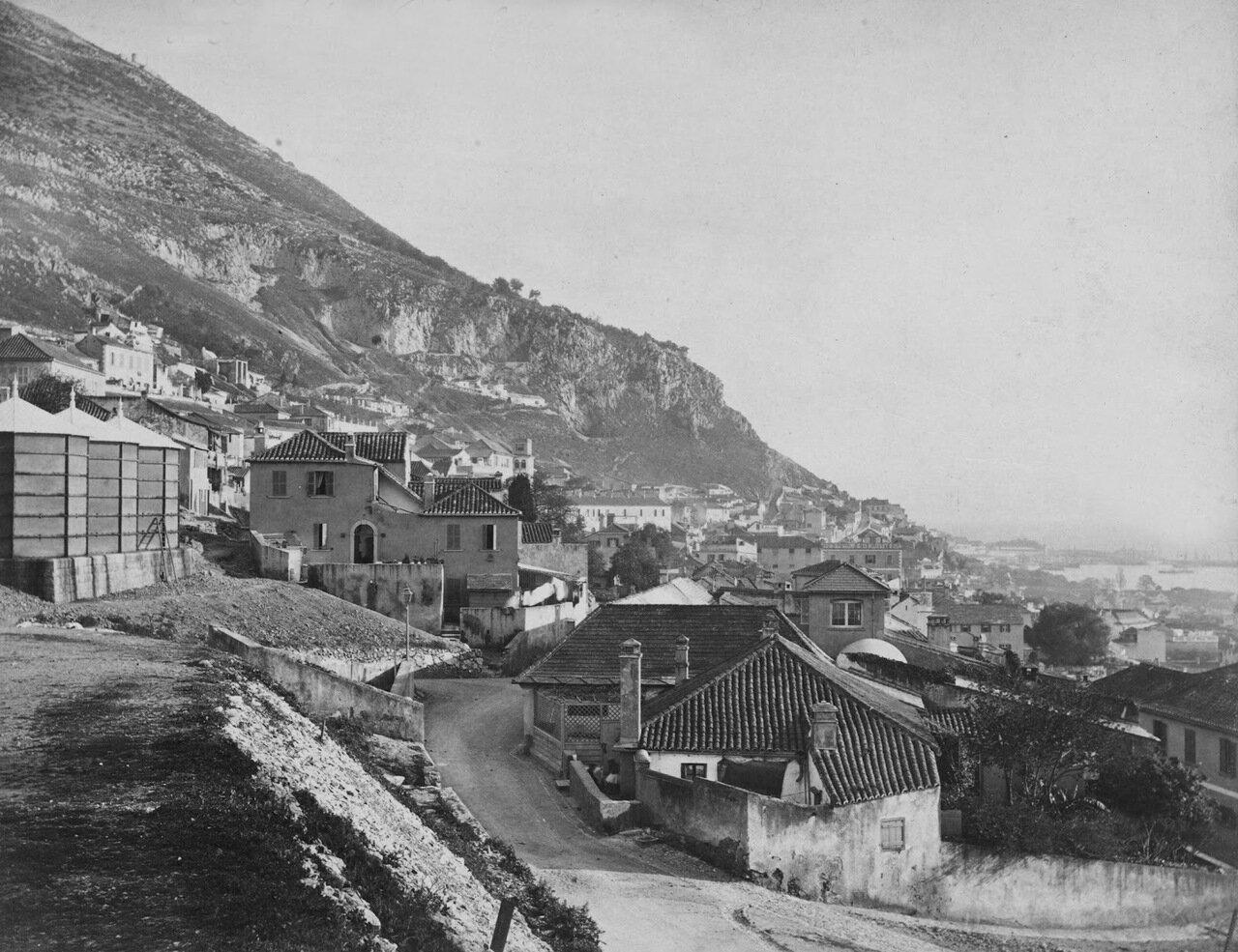 1850. Вид на юг