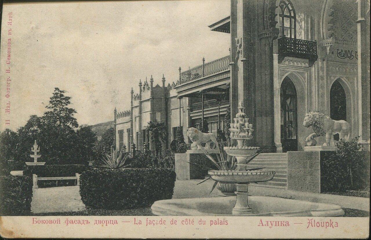 Дворец графа М.С.Воронцова. Боковой фасад дворца