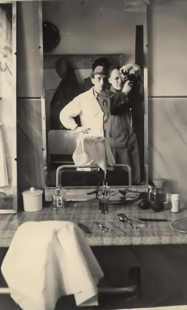 1950. В поселковой парикмахерской