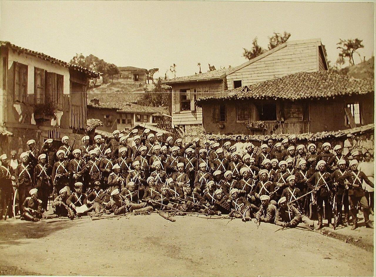 31. Солдаты и офицеры 4-го эскадрона Лейб-гвардии Конно-Гренадёрского полка. Турция. Богоскиой