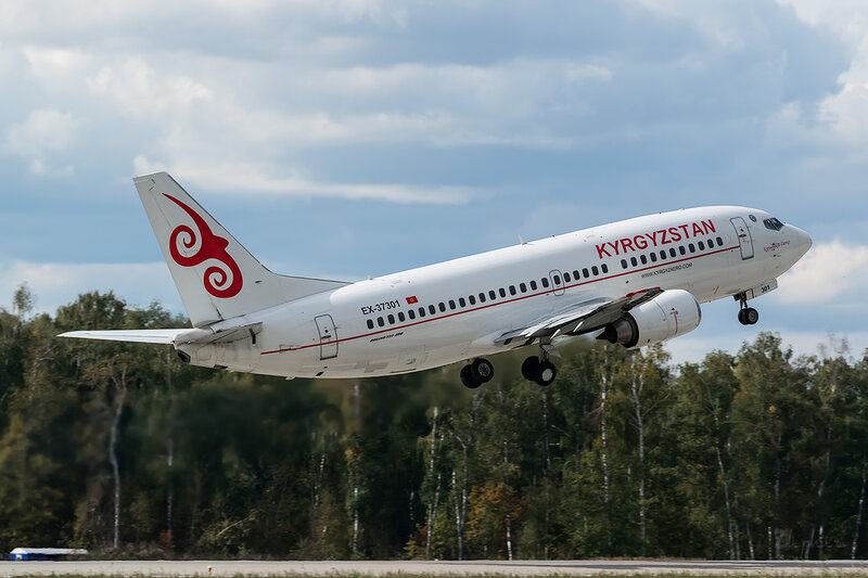 Boeing 737-382 (EX-37301) Kyrgyzstan D802846
