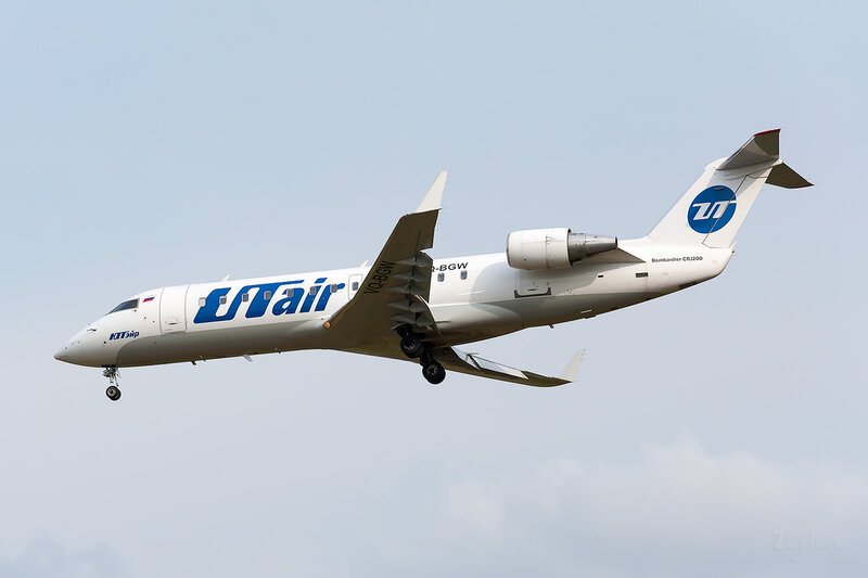 Bombardier CRJ-200LR (VQ-BGW) ЮТэйр DSC_3961