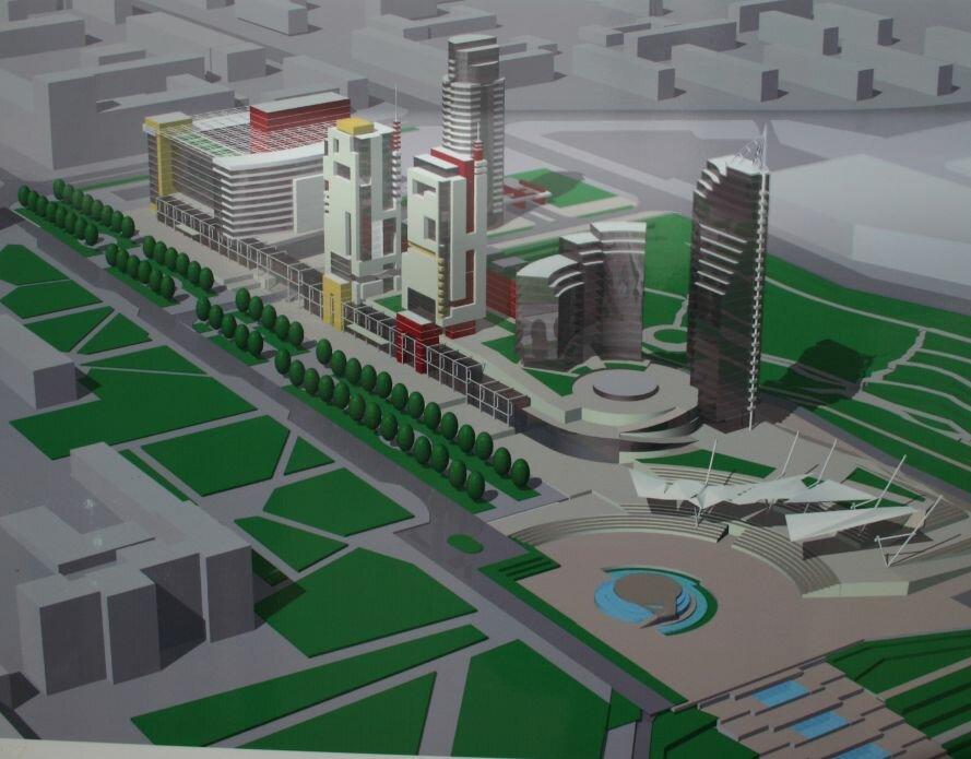 Запорожцам показали, как будет выглядеть «Радуга» и сквер перед театром им. Магара (ФОТО), фото-4