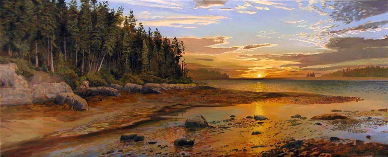 Реалистичные пейзажи художника Артура Чартова