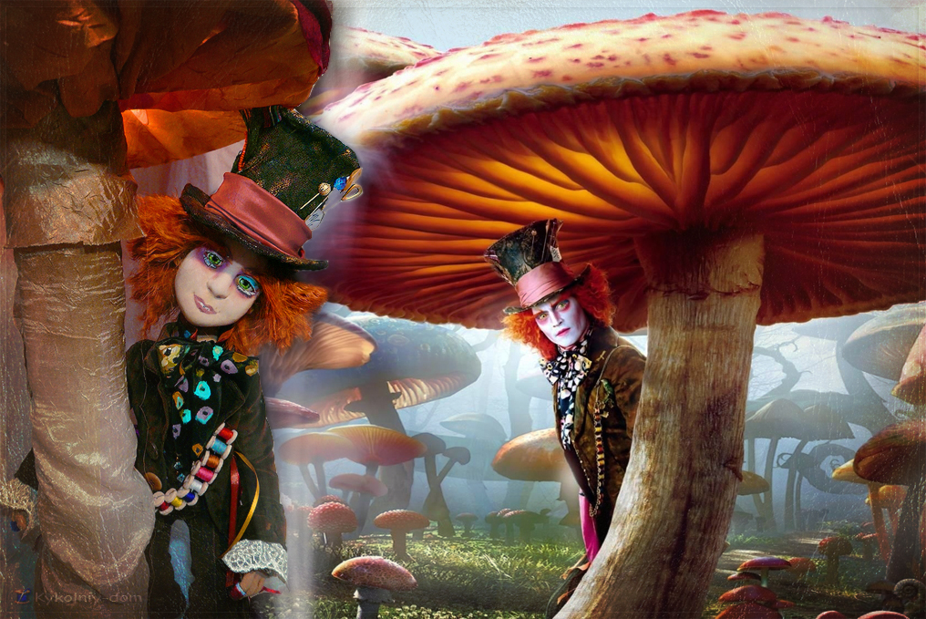 портретная кукла по фото Джонни Депп. шляпник. Алиса в стране чудес. Джонни Депп.