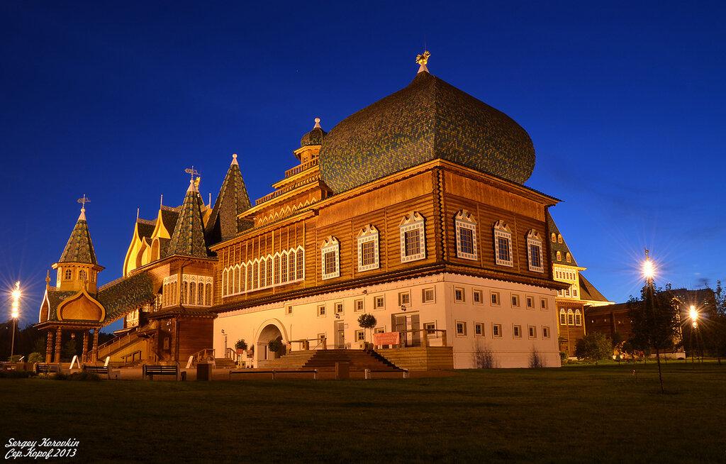 Дворец царя Алексея Михайловича в Коломенском №2