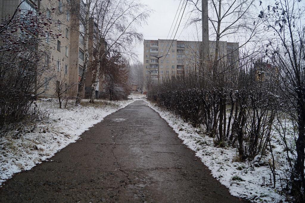 Ноябрьский снег. Златоуст