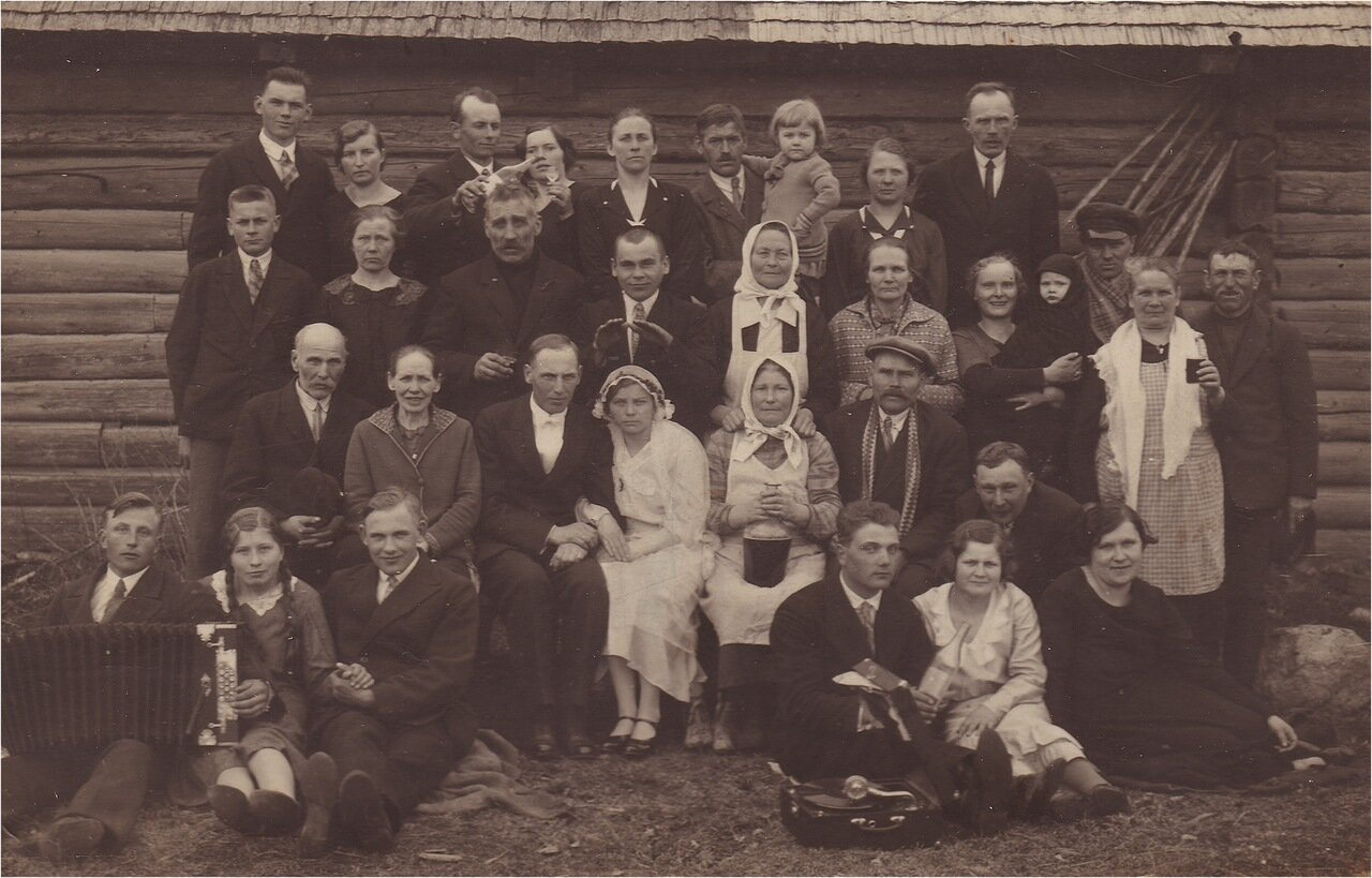 Фото со старинных свадеб