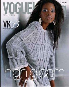 Пуловер из юбилейного Vogue с глубокой линией реглана Наши воплощения