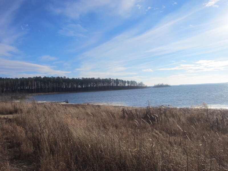 Озеро Чебаркуль - небо просто прозрачнейшее! (15.11.2013)