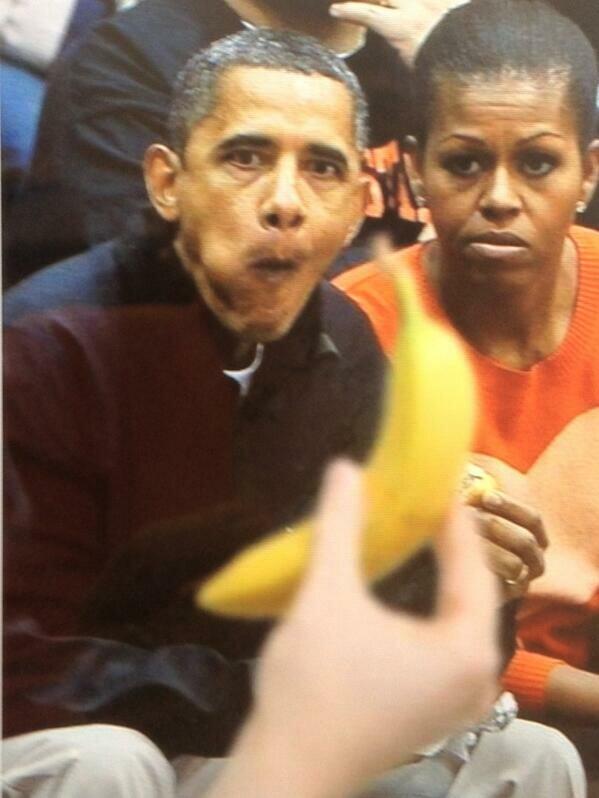 Проблема одной женщины с бананом