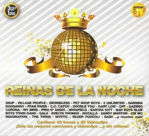 (Euro-Disco / Eurodance / Technopop) VA - Reinas De La Noche (3 CD) - 2009, FLAC (image+.cue), lossless
