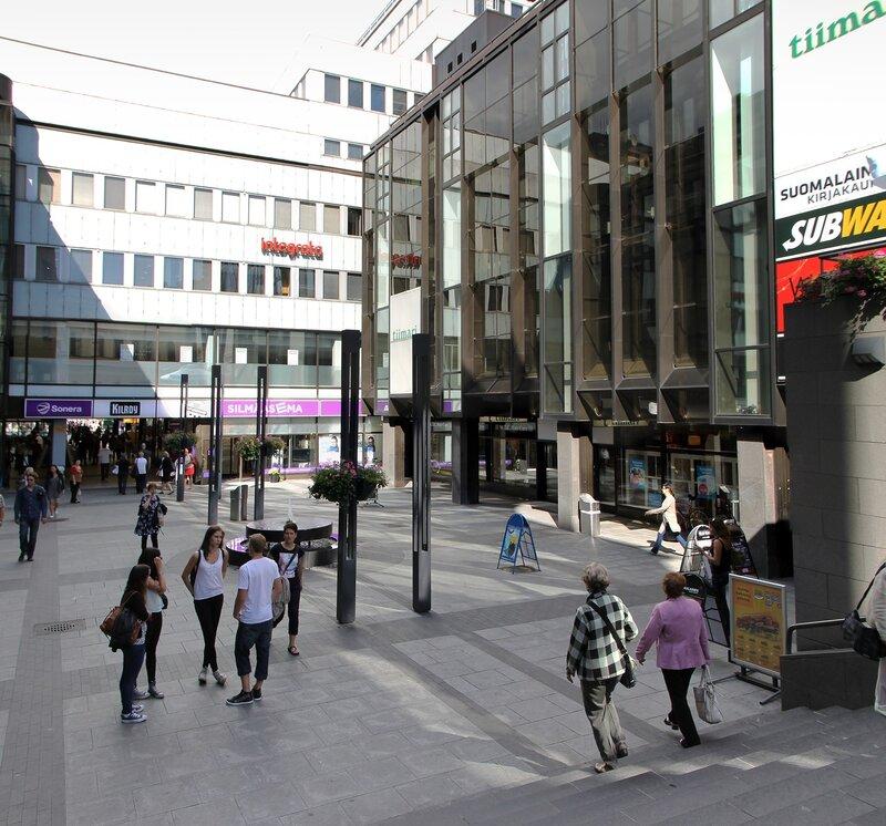 Helsinki. Makkaratalo shopping center
