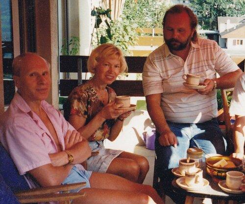 В гостях у Людмилы Белоусовой и Олега Протопопова 1996 г. Грюненвальд