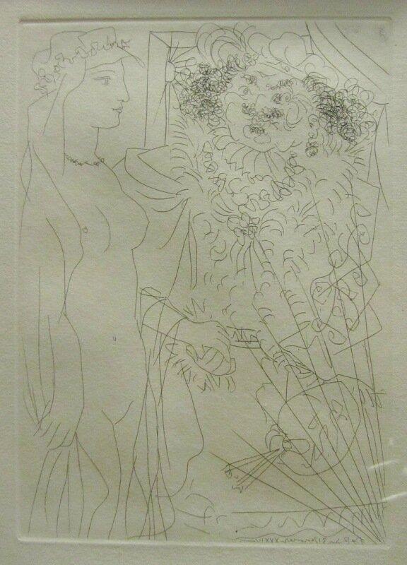 Выставка Пикассо