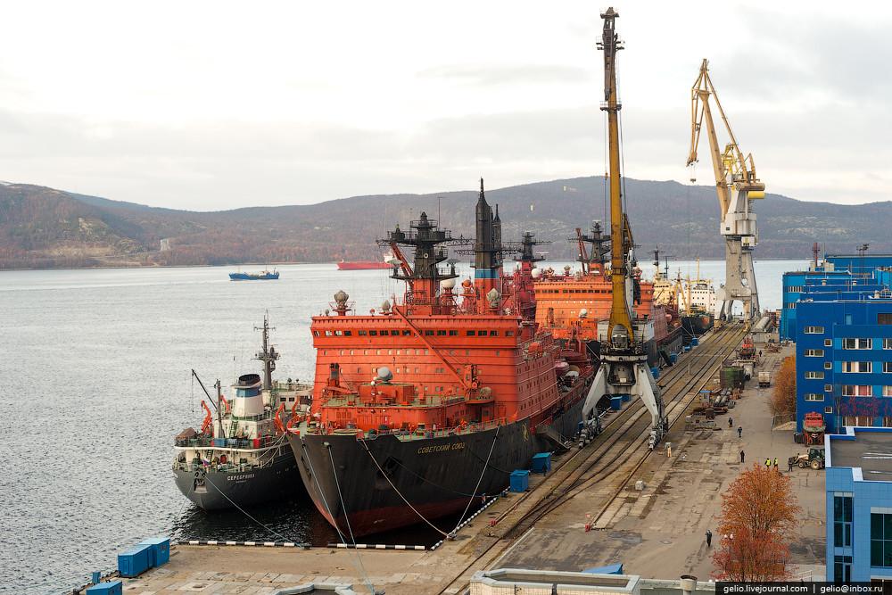 Ледоколы класса «Арктика» — основа российского атомного ледокольного флота: 6 из 10 атомных ледоколо