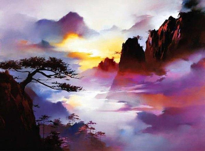 Пейзажи редкой красоты и гармонии от H. Leung
