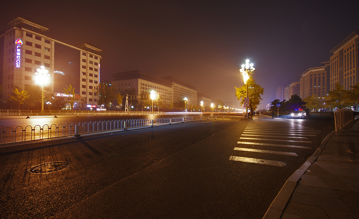 Ночной Пекин