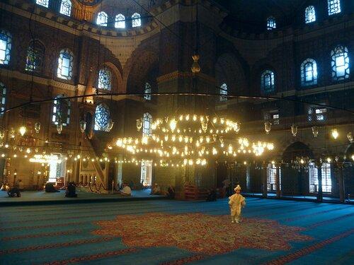 Стамбул. Новая мечеть (Istanbul. New Mosque).