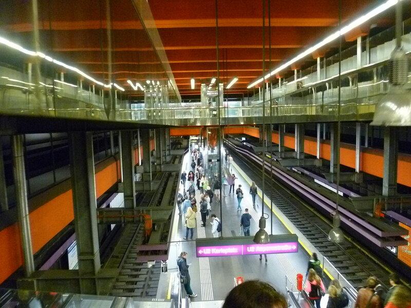 Вена, метро (Vienna, Metro)