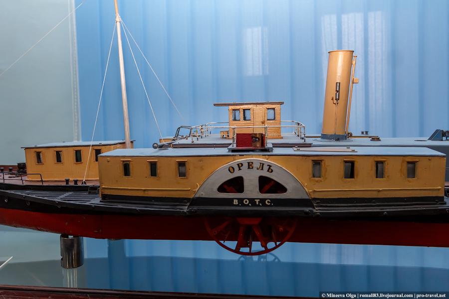 Музей речного флота в Нижнем Новгороде